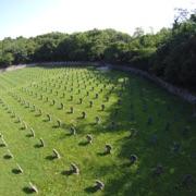 Veduta aerea del Cimitero austro-ungarico di Prosecco