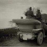 L'imperatore Carlo I guarda Miramare 10/04/1917