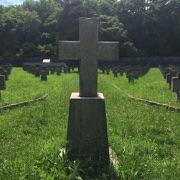 Croce centrale nel Cimitero austro-ungarico di Prosecco