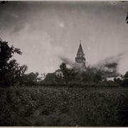 Esplosione della Chiesa a Castagnevizza