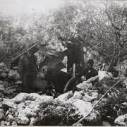 Gebirgshaubitze sul fronte dell'Isonzo 10/09/1917