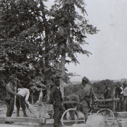 Wasserleitungsbau sul Carso. Giugno 1917