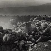 Feuerndes Maschingwehr sul fronte dell'Isonzo