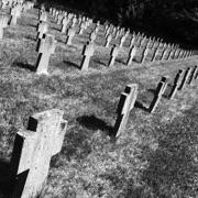 Un particolare del Cimitero austro-ungarico di Prosecco